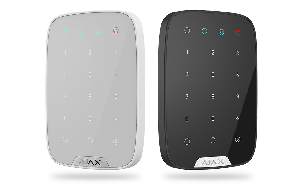ajax keypad overview black white