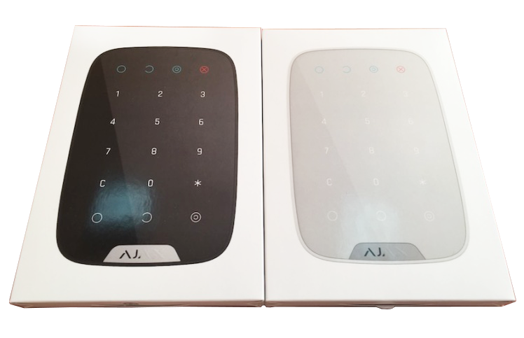 ajax keypad package overview