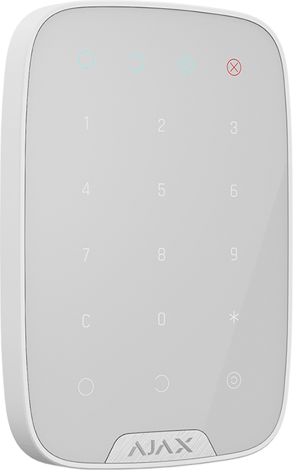 Ajax keypad white