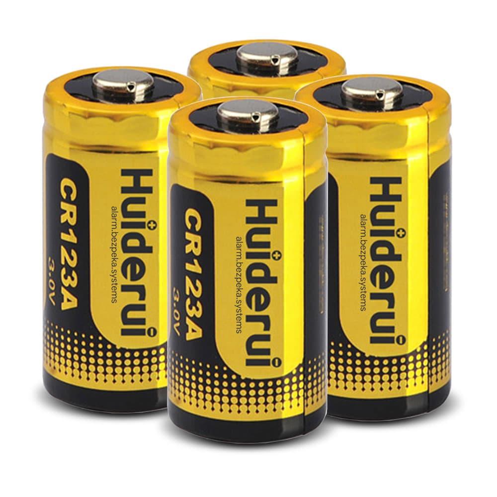 ajax battery cr123a 4pcs