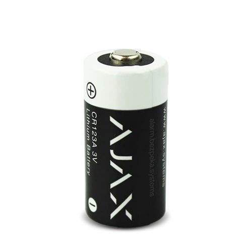 ajax cr123a battery