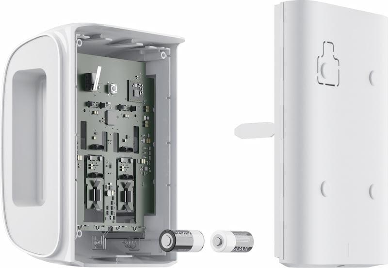 Ajax DualCurtain Outdoor battery