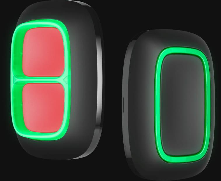 ajax holder black doublebutton button